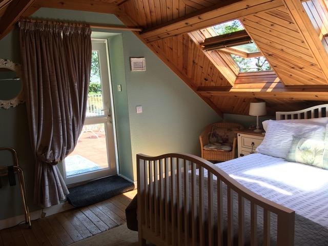 barn mezzannine bedroom